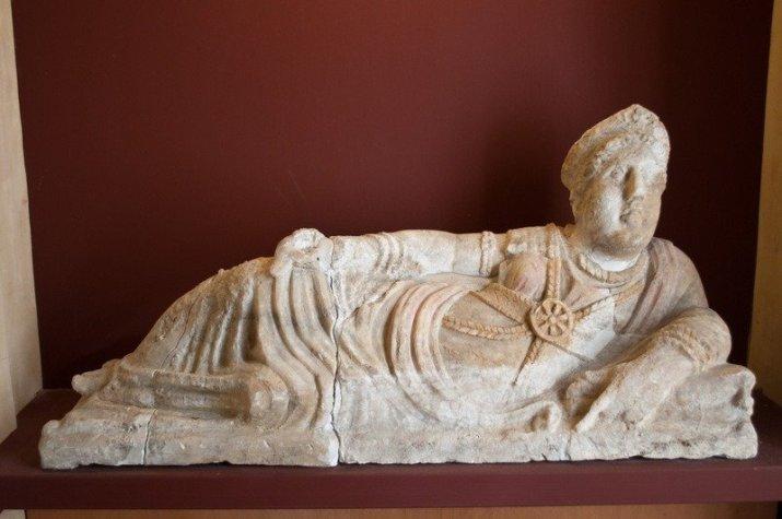 Exhibit at the Antiquarium, Sant'Appiano