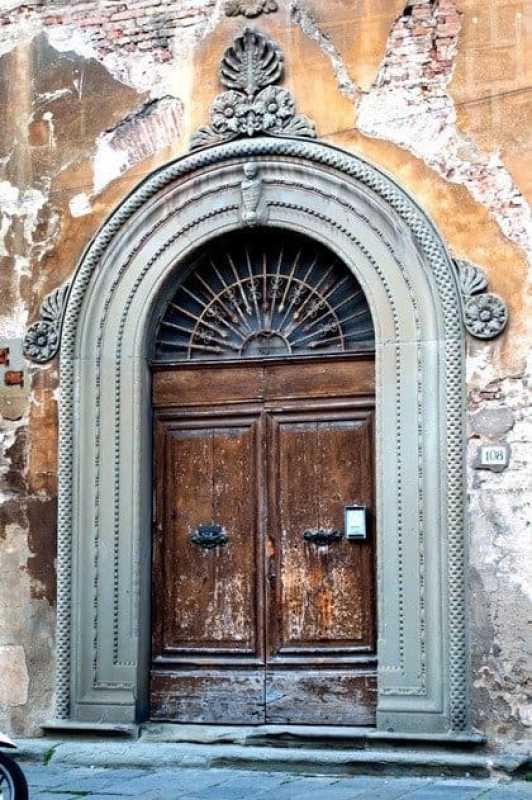 Old Door in Pisa