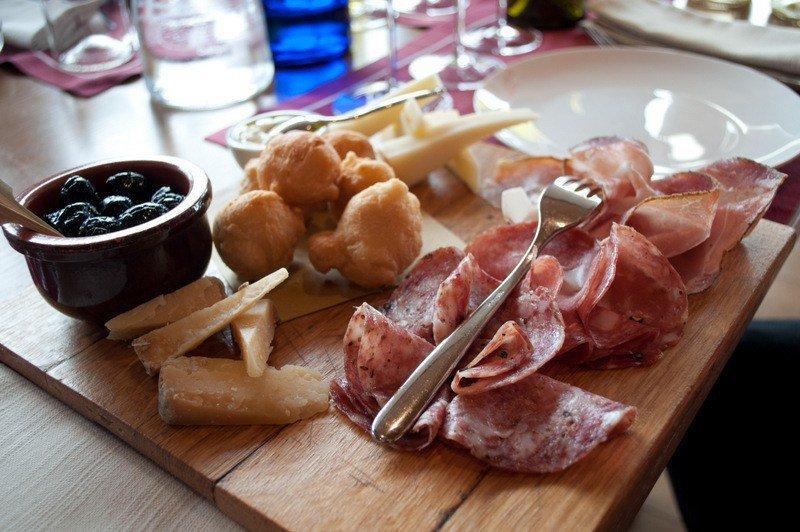 Tuscan food - Antipasto Misto