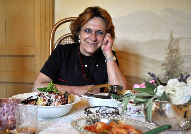 Monica Consoli and A Sicilian Feast