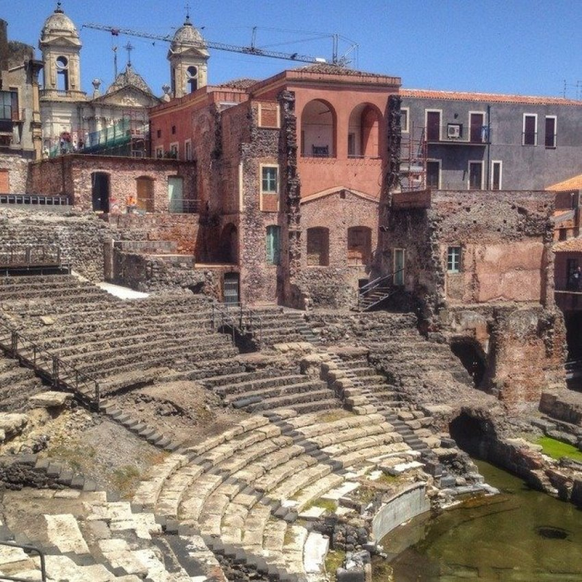 The Greek & Roman Theatre, Catania