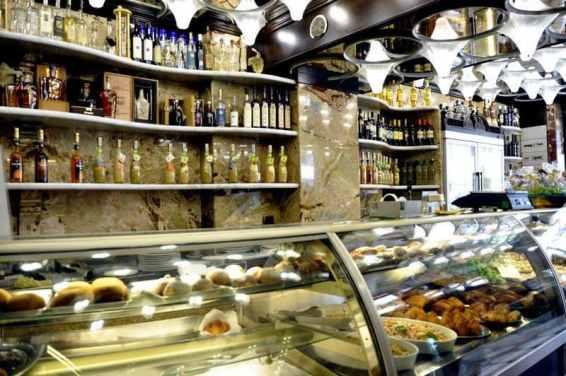 Inside Caffè del Duomo, Catania