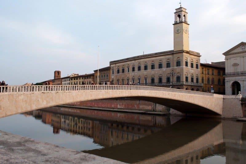 Ponte di Mezzo, River Arno, Pisa