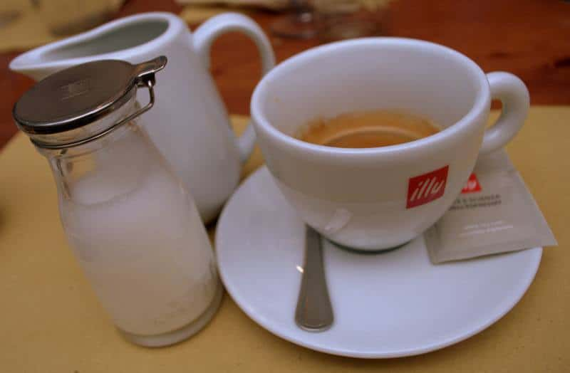 Caffe Espresso with milk