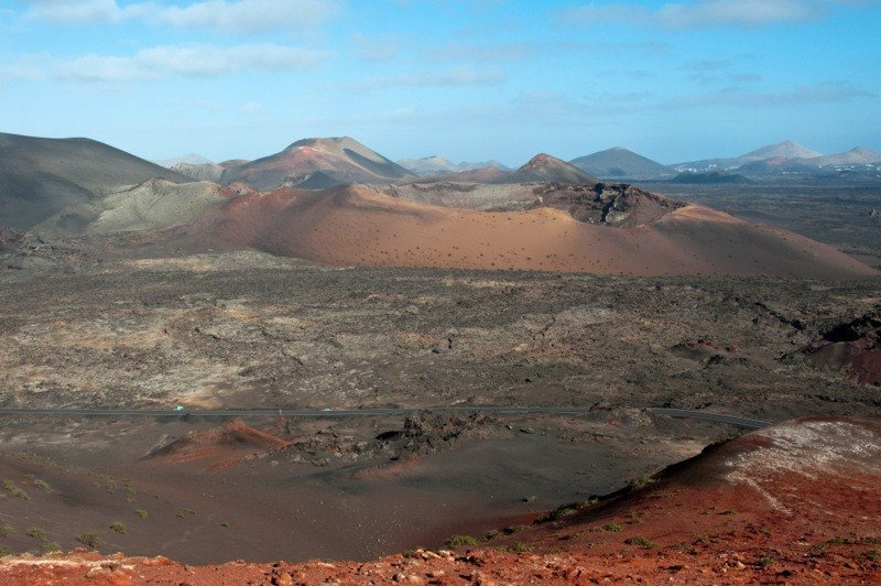 Lanzarote's Fire Mountains