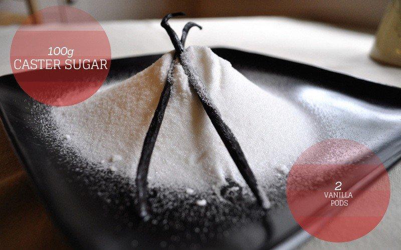 Sugar and Vanilla Pods