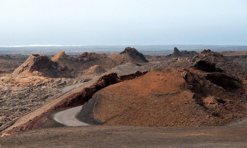 Volcanoes at Timanfaya