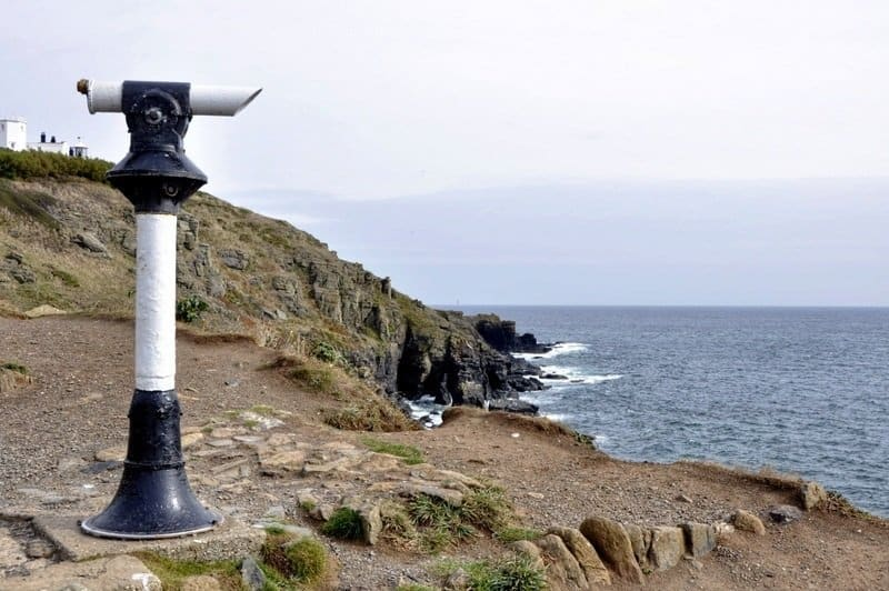 Telescope at The Lizard, Cornwall