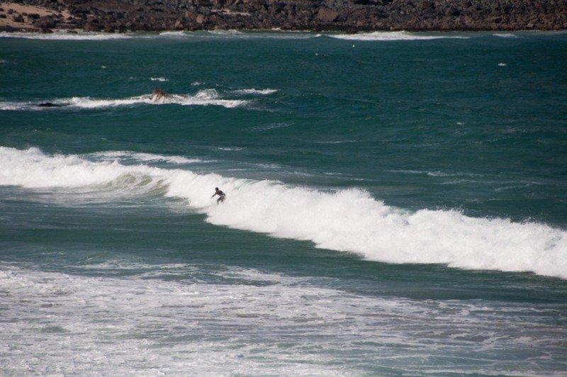 urfing at Porthmeor Beach
