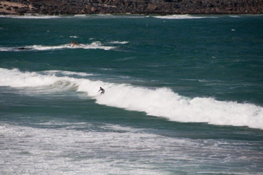 Surfing, Porthmeor Beach, Cornwall