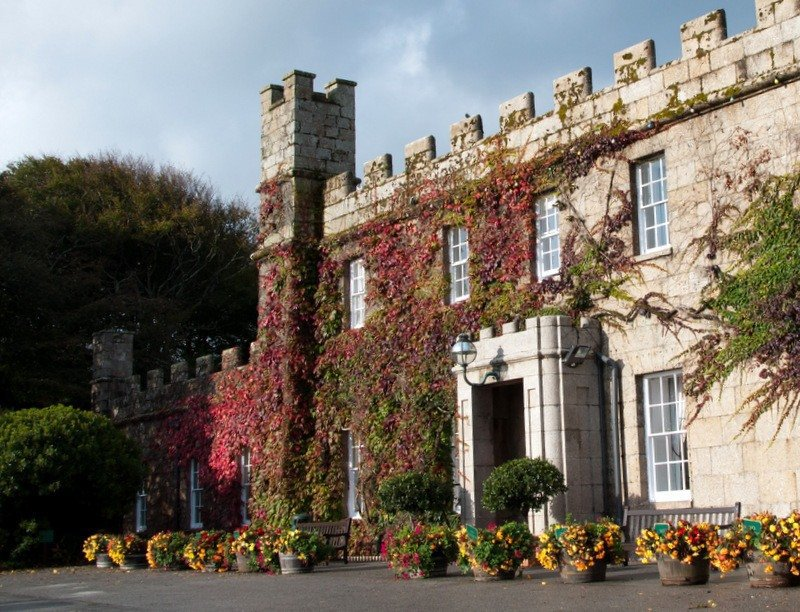 Tregenna Castle Resort Entrance