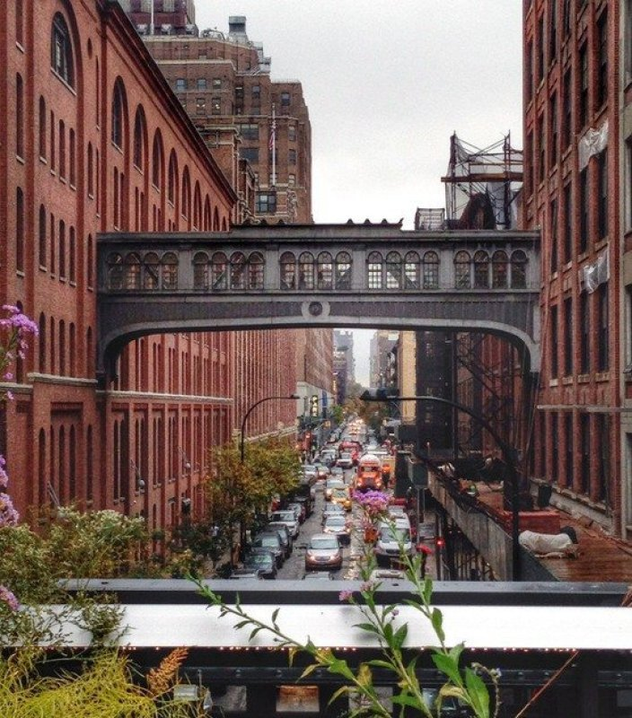 Street View from the High Line