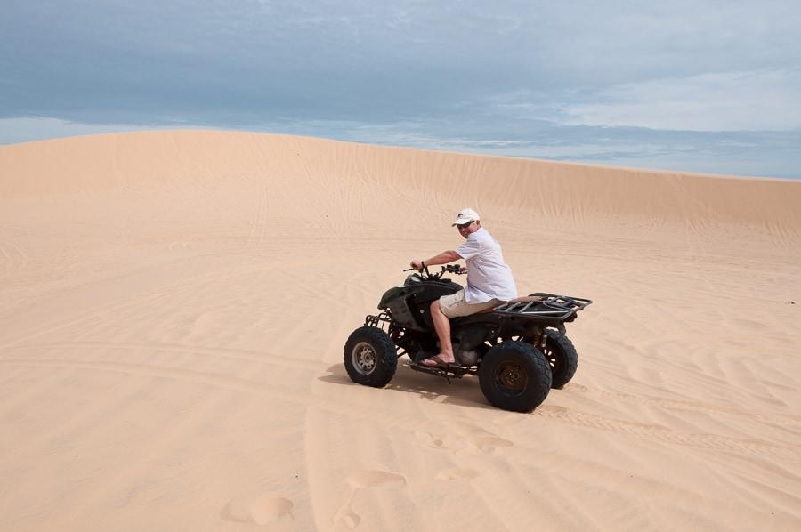 Quad Biking, White Dunes, Mui Ne