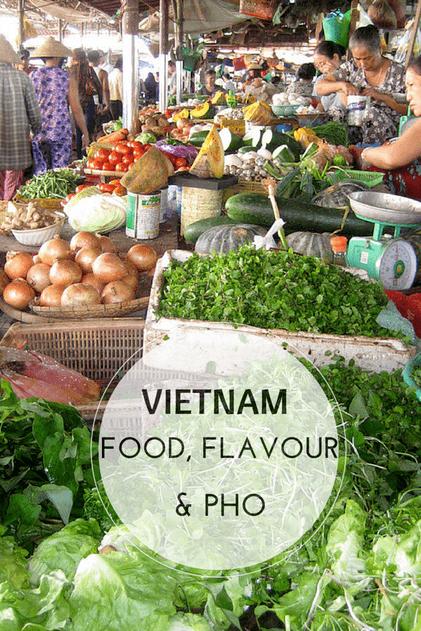 Vietnamese food market