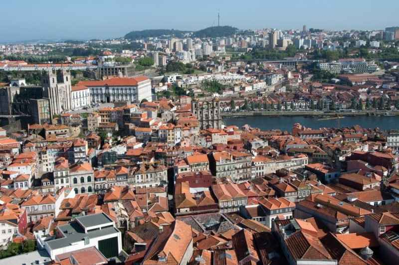 View of Porto from Clergios Tower