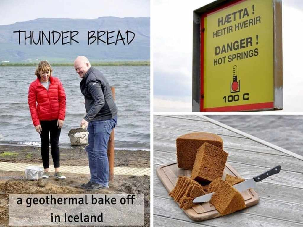 Making Thunder Bread in Iceland