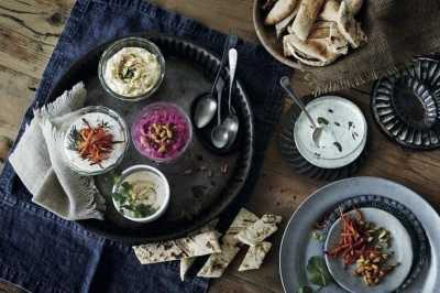 Hot Hummus Recipe – and a review of Mezze, Small Plates to Share