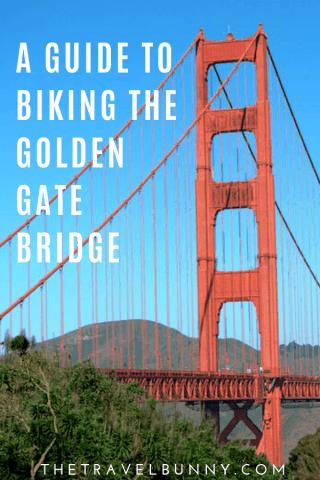 San Francisco Biking The Golden Gate Bridge