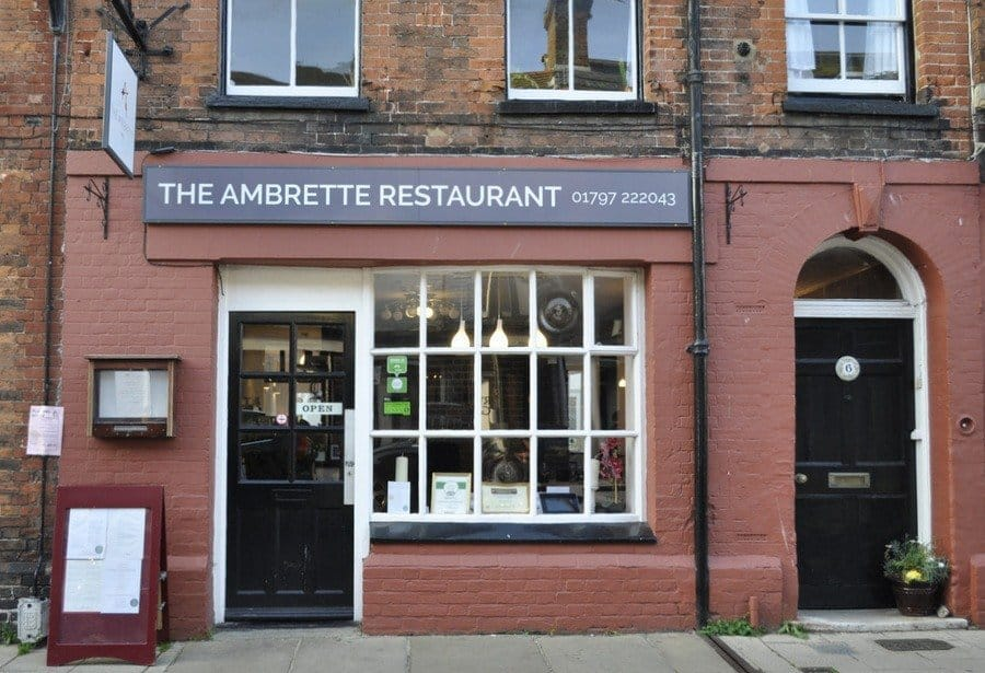 Autumn Tasting Menu at The Ambrette, Rye