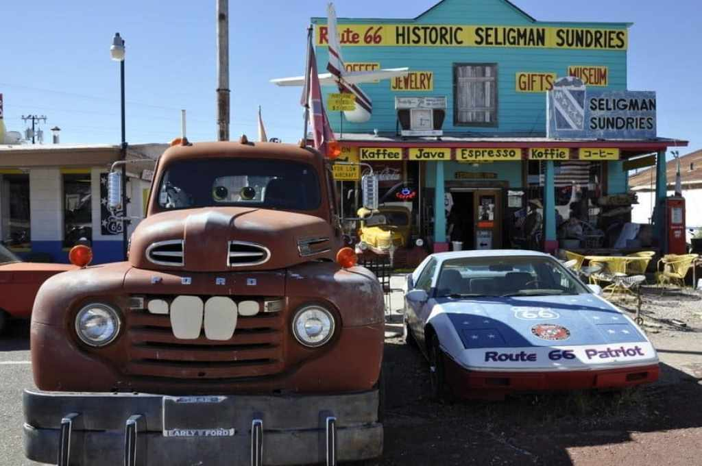 Seligman on Route 66