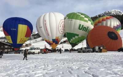 Balloon Festival in Filzmoos