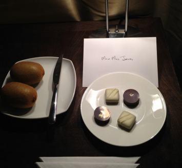 One Aldwych Welcome Chocolates
