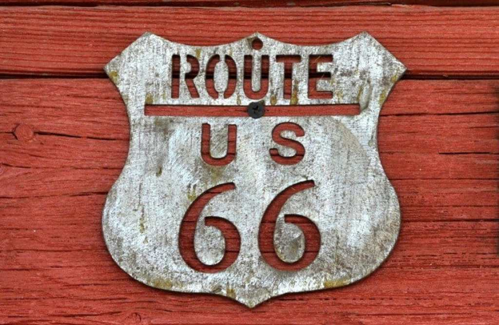 Route 66 Sign