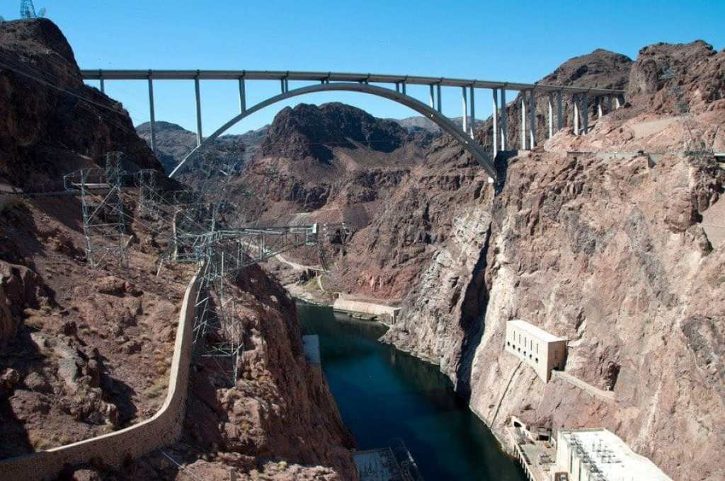 The Mike O'Callaghan–Pat Tillman Memorial Bridge