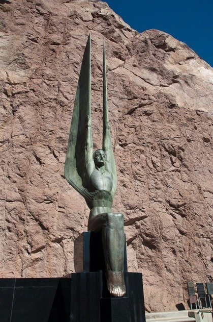 Winged Figure at Hoover Dam