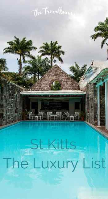 St Kitts - The luxury list. Hotels, bars, restaurants and more besides. Top venues for a luxury stay on the authentic Caribbean island...