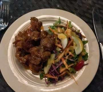 thai-chicken-salad-st-kitts-food