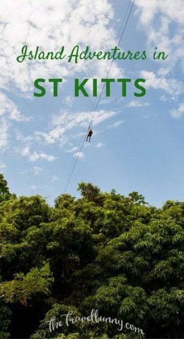 Adventure and adrenaline activities - what to do on the Caribbean island of St Kitts