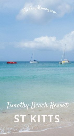 Timothy Beach Resort, St Kitts. A review of the only hotel resort in St Kitts that sits on the Caribbean Sea