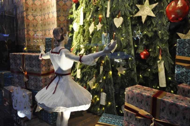 Liberty Christmas Window