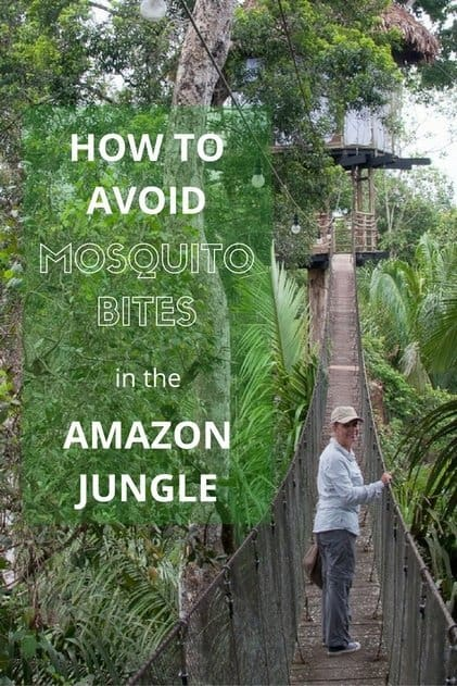 How to avoid Mosquito Bites in the Amazon Jungle
