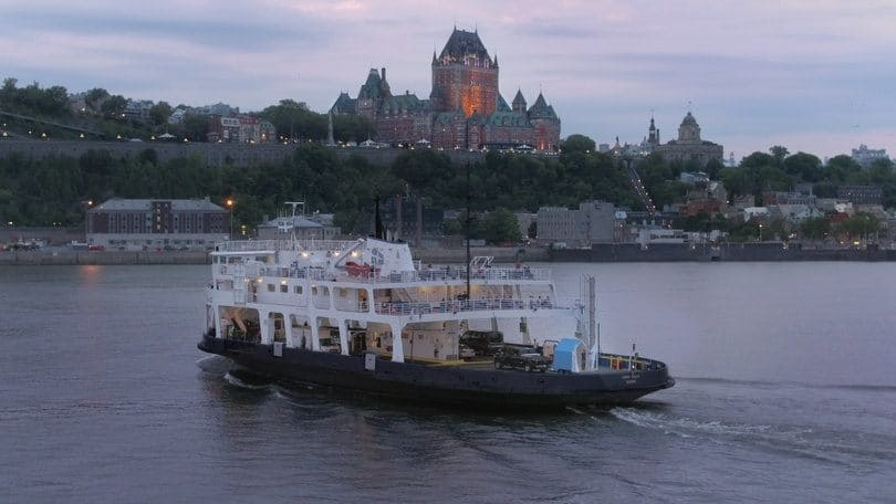 Quebec-Ferry