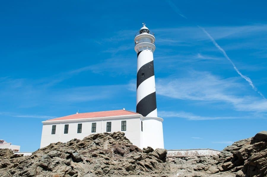 Favàritx lighthouse Menorca