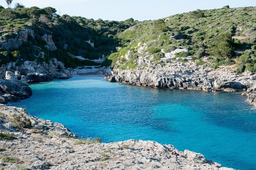 Secluded Cove Menorca