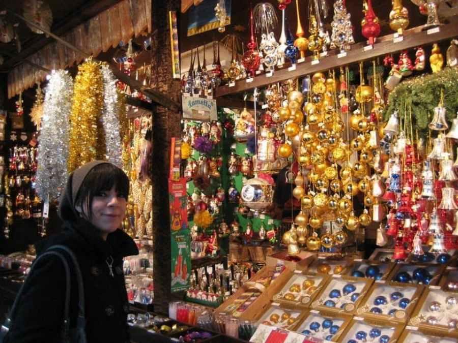 Munich Christmas Market Stall