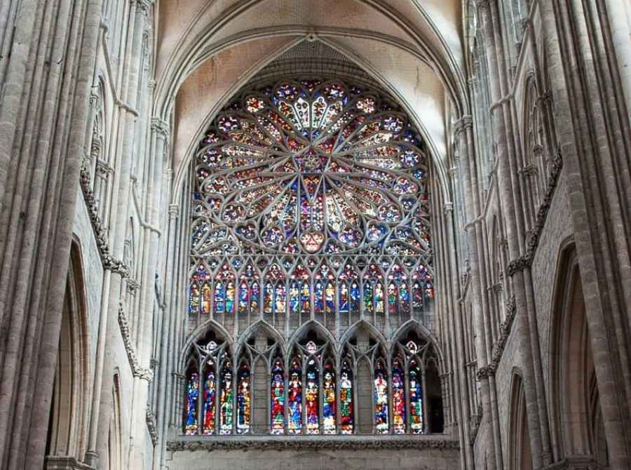 Rose Window, Amiens Cathedral