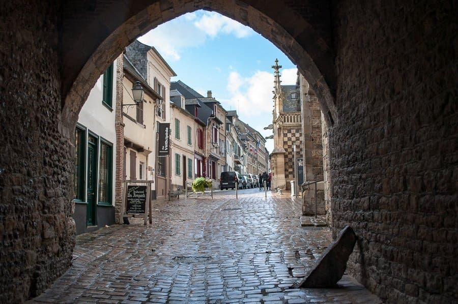 Saint Valery Sur Somme, Northern France