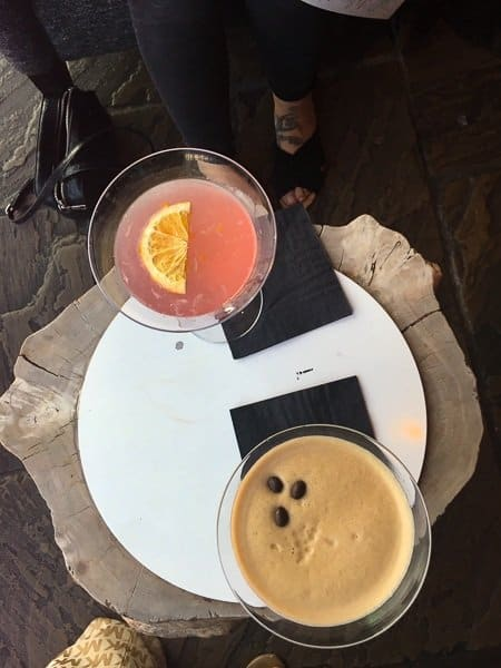 Cocktails at Salthouse Harbour Hotel