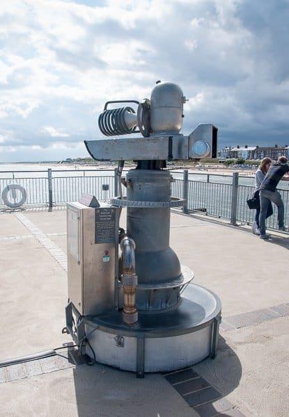 The Quantum Tunnelling Telescope
