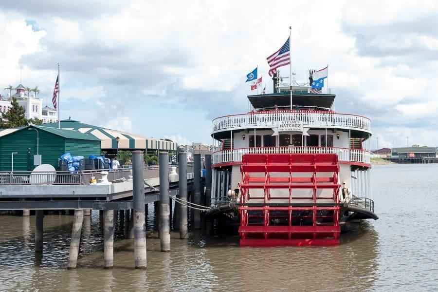 Natchez Paddle Steamer, New Orleans