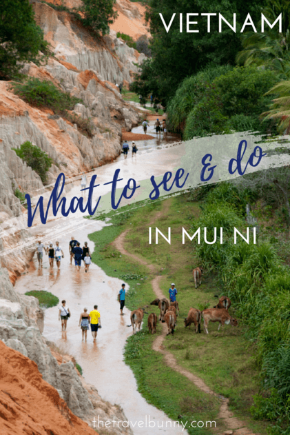Travel guide to Mui Ni, Vietnam - what to see and do in Mui Ni from Kite Surfing to Fairy Streams and fish sauce production #muini #travelguide #traveltips