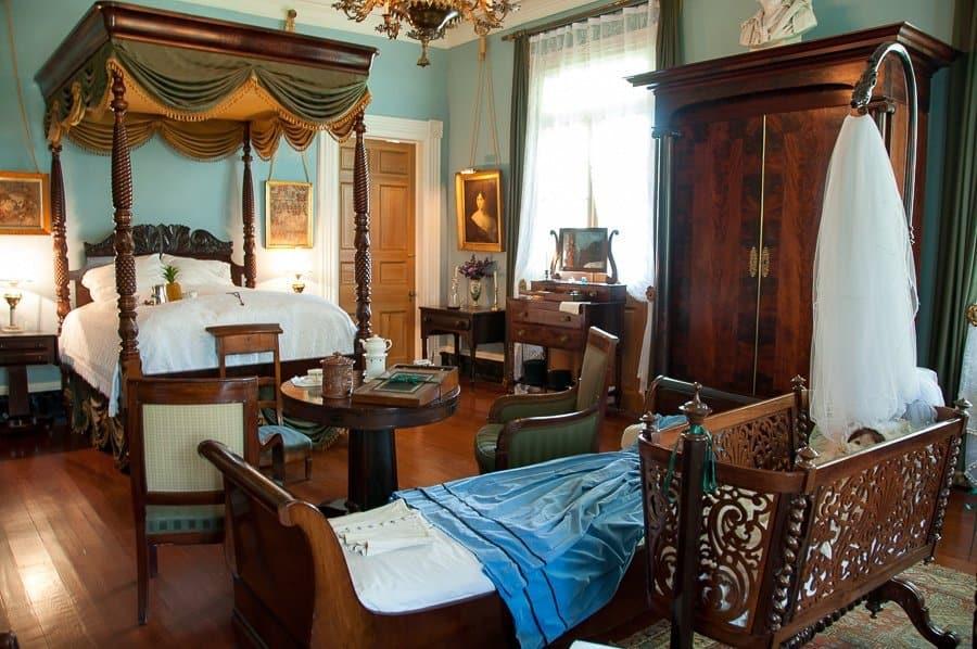 Oak Alley House Bedroom