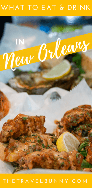 My guide to New Orleans food and drink. Po boys, Gumbo, Beignets, Jambalaya, crawfish boils, cocktails and more. What to eat and drink in NOLA and which restaurants in New Orleans to eat at | #neworleans #travel #food