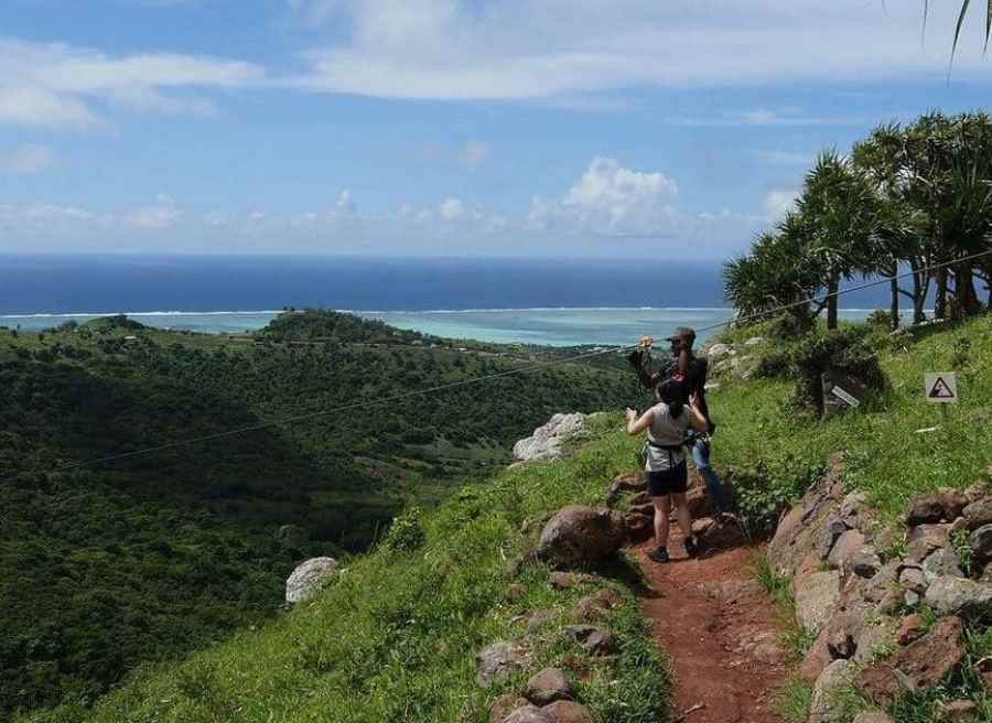 Tyrodrig Zipline Rodrigues Island