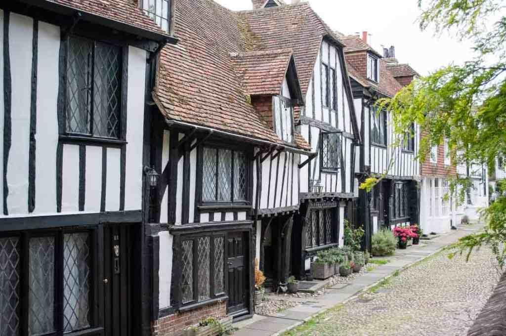 Rye, East Sussex, half-timbered buildings