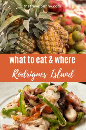 Rodrigues Island Food